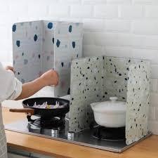 splash guard for stove at