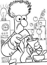 Science Coloring Page Pjlibraryradioinfo