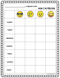 Emotions Chart For Kindergarten Factual Feelings Chart With Pictures Kindergarten Feelings