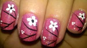 Easy Floral Nail Designs 14 Cute And Easy Flower Nail Designs