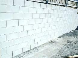 block wall footing cinder block wall footing cinder block wall thickness tips retaining garden concrete block