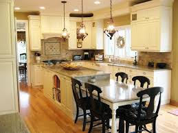 Image result for island with table end. Table HeightKitchen ...