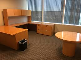 wood desks for office. National U Shape Office Desk Wood Desks For