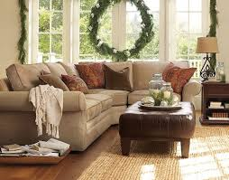 pottery barn furniture outlet Family Room Traditional with Pottery barn sectional sofa