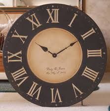 large round wall clock large round wall clock home imageneitor