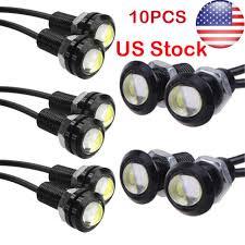 Parts & Accessories 20X <b>9W</b> 18mm <b>12V</b> LED Eagle Eye Light <b>Car</b> ...
