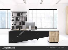white office bookcase. White CEO Office, Bookcase, Table \u2014 Stock Photo Office Bookcase