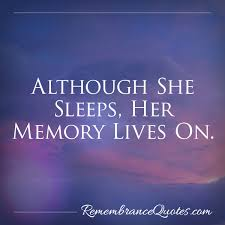 In Memory Quotes New She Sleeps In Memory Headstone Epitaphs Remembrance Quotes