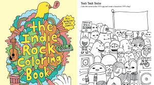 90s coloring book plus the in rock coloring book in colour me good 90s colouring book