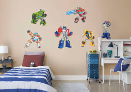 transformers rescue bots collection fathead wall decal
