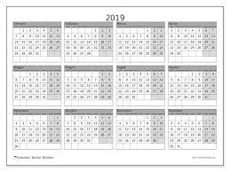 Calendario 2019 35ld Calendario2019 Calendario Stampabile