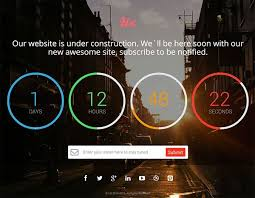 countdown templates countdown timer website template 21 free coming soon under