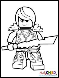 Small Picture Lego Ninjago Coloring Pages HealthyChildnet