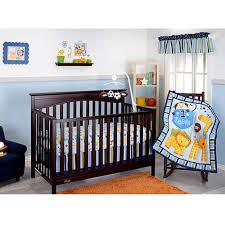 little bedding by nojo 3 little monkeys 10 piece crib bedding set blue com