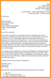 9 10 Property Manager Cover Letter Examples Aikenexplorer Com