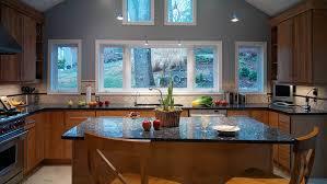 stylish blue pearl granite countertops