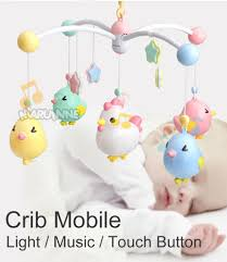 Light Show Mobile Baby Us 5 9 30 Off Marumine Baby Crib Mobile Toy With Night Light Music Touch Buttons Bed Bell Holder Rattles For 0 12 Months Newborn Boys Girls In