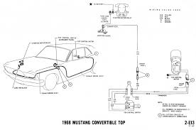 1968 mustang wiring diagrams and vacuum schematics average joe 1968 mustang wiring diagram convertible top