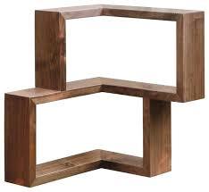 modern corner shelf corner shelf walnut walnut modern display and wall shelves corner shelf unit home