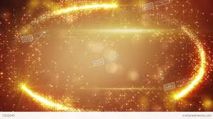 orange holiday frame of fairy dust loop background stock footage