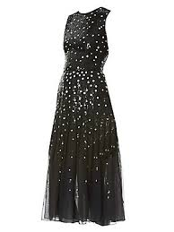 Carolina Herrera - <b>Sequined</b> Chiffon Dress - saks.com