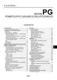 2003 nissan 350z power supply ground circuit elements 2003 nissan 350z power supply ground circuit elements section pg 78 pages