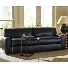 tommy bahama island fusion sakura leather sofa in black 01 ll7930 33 61