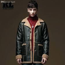faux fur er jacket mens fall winter leather jacket men faux fur coat luxury fleece er
