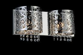 Chrome Bathroom Lighting Fixtures Delectable 48 Light Vanity Light With Chrome Finish 48W48STR48 Universe