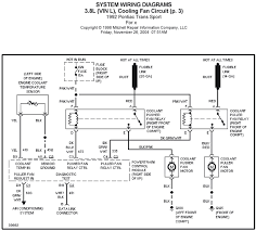 schematic wiring diagrams solutions 1992 pontiac trans sport 3 8l vin l cooling fan circuit p 3 system wiring diagrams