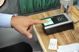 Resultado de imagem para recadastramento biometrico