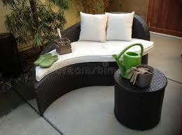 Unique Patio Furniture Stock Image Image
