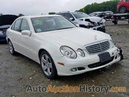 Junk, intake manifold (cheap magnesium castings and plastic parts for air control are junk, rear suspension collapsed, fuel pump failed, sam Wdbuf83j06x201835 2006 Mercedes Benz E 500 4matic View History And Price At Autoauctionhistory