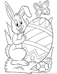 Coloring Pages For Easter Coloring Page Coloring Pages Easter Bunny