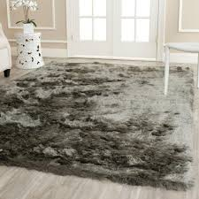 surprising design grey plush rug interesting ideas safavieh paris silver x area creative idea charming decoration rugs to decorate your floor space