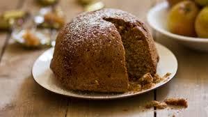 apple food. toffee apple cake food