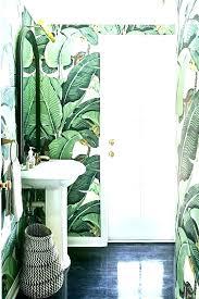 palm tree bath r tropical bathroom accessories set medium size of fish amazing rug sets ideas