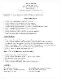 Resume Examples For Nursing Assistant Resume Examples Resume No