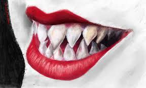 sharp teeth. sharp teeth by ireneaa o