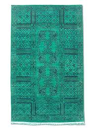 Green overdyed rug Contemporary Image Unavailable Amazoncom Amazoncom Handmade Overdyed Rug Wool Persian Green 3 11