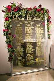 Winter Wedding Seating Chart Ideas 17 Unique Seating Chart Ideas For Weddings