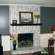 painted brick fireplace best fireplaces ideas on inside white images design