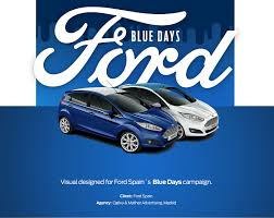 Ford Blue Days on Behance