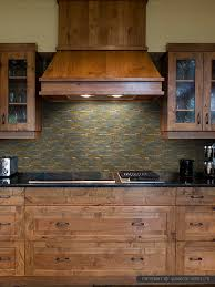 brown gray metal slate backsplash tile backsplashcom