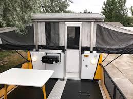fleetwood scorpion pop up toy hauler trailer 9500 fairfield