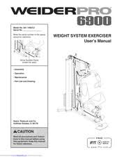 Weider Pro 4850 Exercise Chart Weider Pro 6900 User Manual Pdf Download