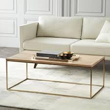 whitewash coffee table. Streamline Coffee Table - Whitewashed/Light Bronze Whitewash