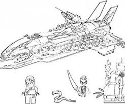 Small Picture Ninjago dragons coloring pages