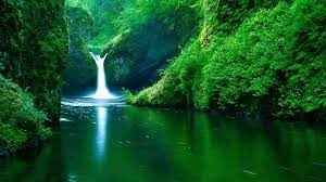 Cave Waterfall Nature Live Wallpaper ...
