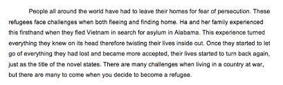 refugee essay emma models of excellence 1